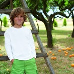 Camiseta Valueweight M/Larga Niño Fruit Of The Loom